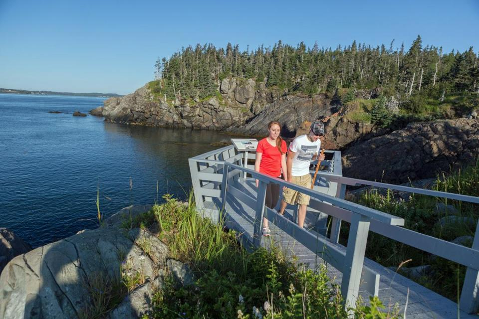 Visitors to Roosevelt Campobello International Park have access to miles of hiking trails where Franklin played as a child.